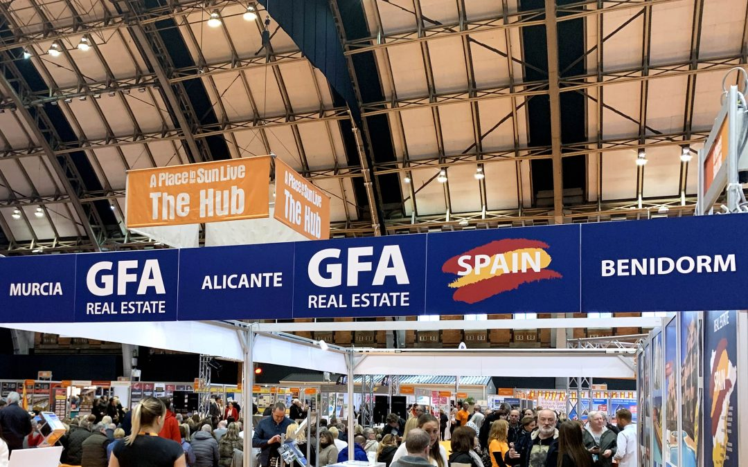 GFA Real Estate estará presente en A Place In The Sun London Olympia 2019